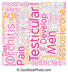 Testicular Problems And Sexual Activity text background...