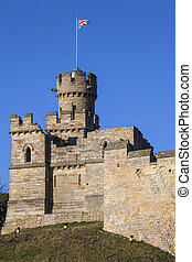 Observatory Tower at Lincoln Castle in the UK
