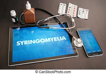 Syringomyelia (neurological disorder) diagnosis medical...