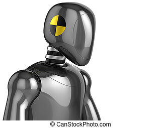 Crash Test Dummy futuristic - Crash Test Dummy shiny...