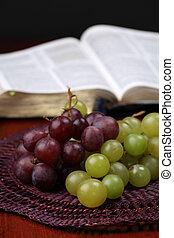 uvas, bíblia