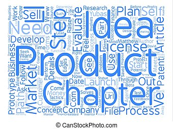 The Steps from Product Idea to Product Success text...