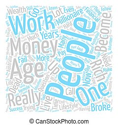The Prosperity In Forgiveness text background word cloud...