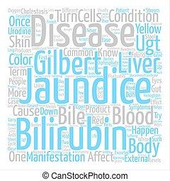 concepto, palabra, relación, texto, gilberts, enfermedad,...