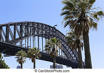 Sydney Harbour Bridge - View at Sydney Harbour Bridge in...