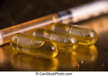 Cannabis extraction capsules infused with shatter over...