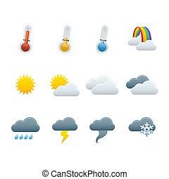 01 Weather Forecast Icons - Professional vector set for your...