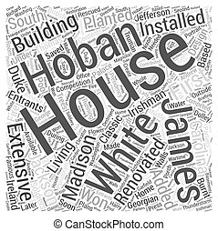 The White House Word Cloud Concept