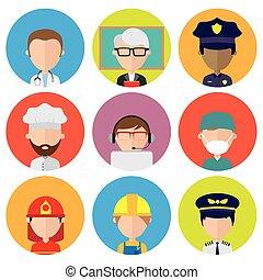 profesiones,  avatar