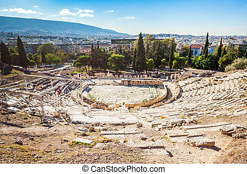 Theatre of Dionysus, Acropolis - The Theatre of Dionysus...