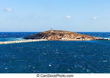 Portara Palatia, Naxos island - Naxos Portara or Apollo...