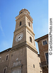 Civic tower Macerata Marche