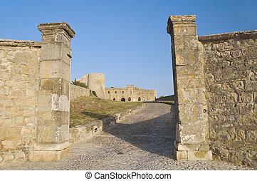 Ducal Palace. Bovino. Foggia. Apulia.