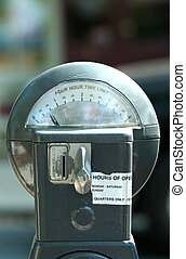 Twenty five cent parking meter - A Twenty five cent parking...