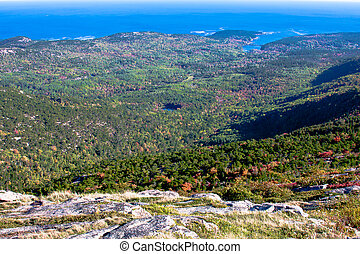 View from Cadillac Mountain Maine 2 - view from cadillac...