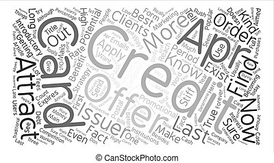 True Apr Credit Cards Do They Exist text background word...