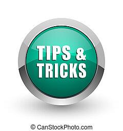 web, ronde,  Tips, Chroom, trucs, metalen, achtergrond, Ontwerp,  Internet, groene, schaduw, witte, zilver, pictogram
