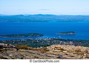 Cadillac Mountain 5 - view from atop cadillac Mountain Maine...