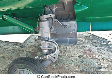 Aircraft undercarriage - airplane undercarriage, or landing...