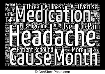When The Cure Becomes The Cause Of Illness text background word cloud concept