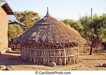 Ethiopian Godjo Hut