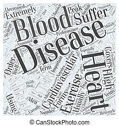 Why Heart Disease Word Cloud Concept