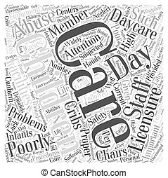 Why Is Day Care Licensure Important Word Cloud Concept
