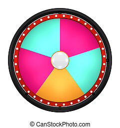 lucky spin five black - 3d illustration of lucky spin...