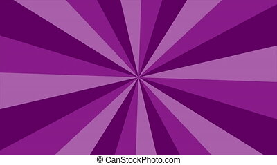 purple rays rotating loop