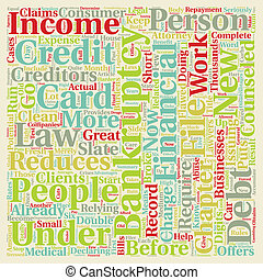 Will New Bankruptcy Laws Benefit You text background...