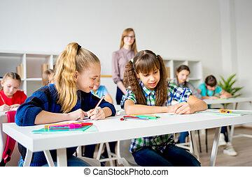 Teacher in junior school - A junior school teacher is...