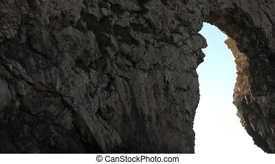 Durdle Door. An ancient stone arch by the sea. - Dorset....