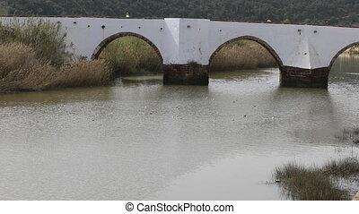 The Ancient Roman Bridge, Silves, Portugal - Ancient Roman...