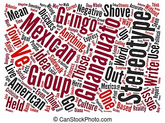 Can t We Discuss Stereotypes Word Cloud Concept Text...
