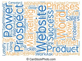 Capture Your Prospects Now Word Cloud Concept Text...