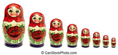 Un, acción, fotografía, Conjunto, ruso,...