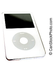 A stock photograph of an Ipod
