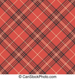 Check red tartan seamless pattern