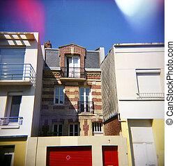 Quaint European Architecture.
