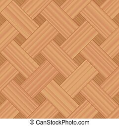 Basket Weave Parquet Wooden Background Pattern - Basket...