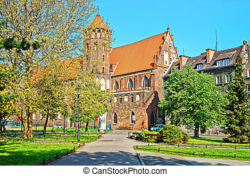 St Nicholas Church in Gdansk, Poland