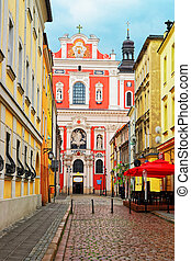 Saint Stanislaus Church at Old town in Poznan - Saint...