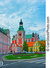 St Stanislaus Church at Old town of Poznan - St Stanislaus...
