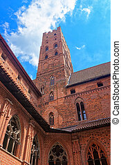 Architecture of Malbork Castle Poland - Architecture of...