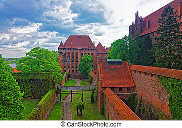 Architecture of Malbork Castle of Poland - Architecture of...