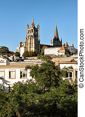 Lausanne Cathedral of Notre Dame Switzerland - Lausanne...