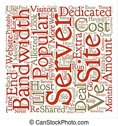 Web Design And The Cookie Cutter House Word Cloud Concept Text Background