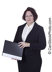 Business Senior Woman