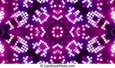 Red-blue led animated VJ background HD