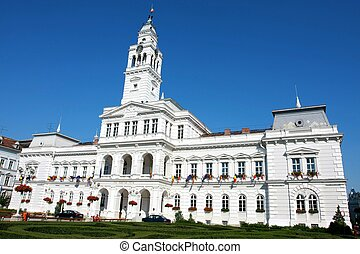 The Town Hall in Arad, Transylvania, Romania